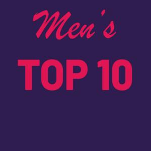 Top 10 Men's